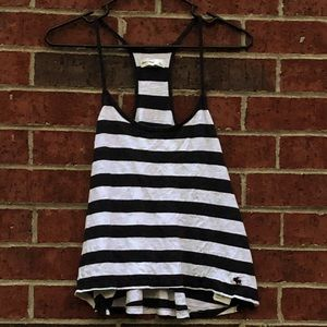 Abercrombie kid's striped tank top